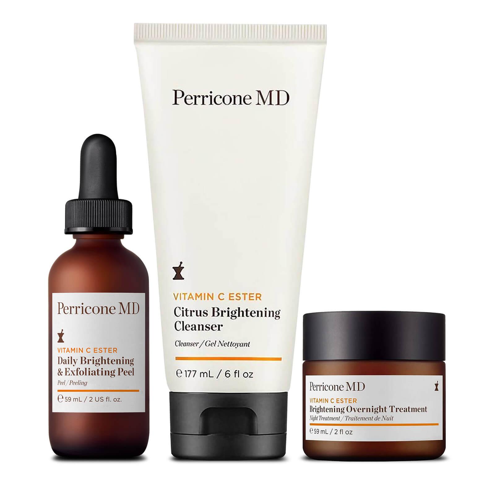 Perricone MD Vitamin C Ester Exfoliating, Brighten and Protect Regimen