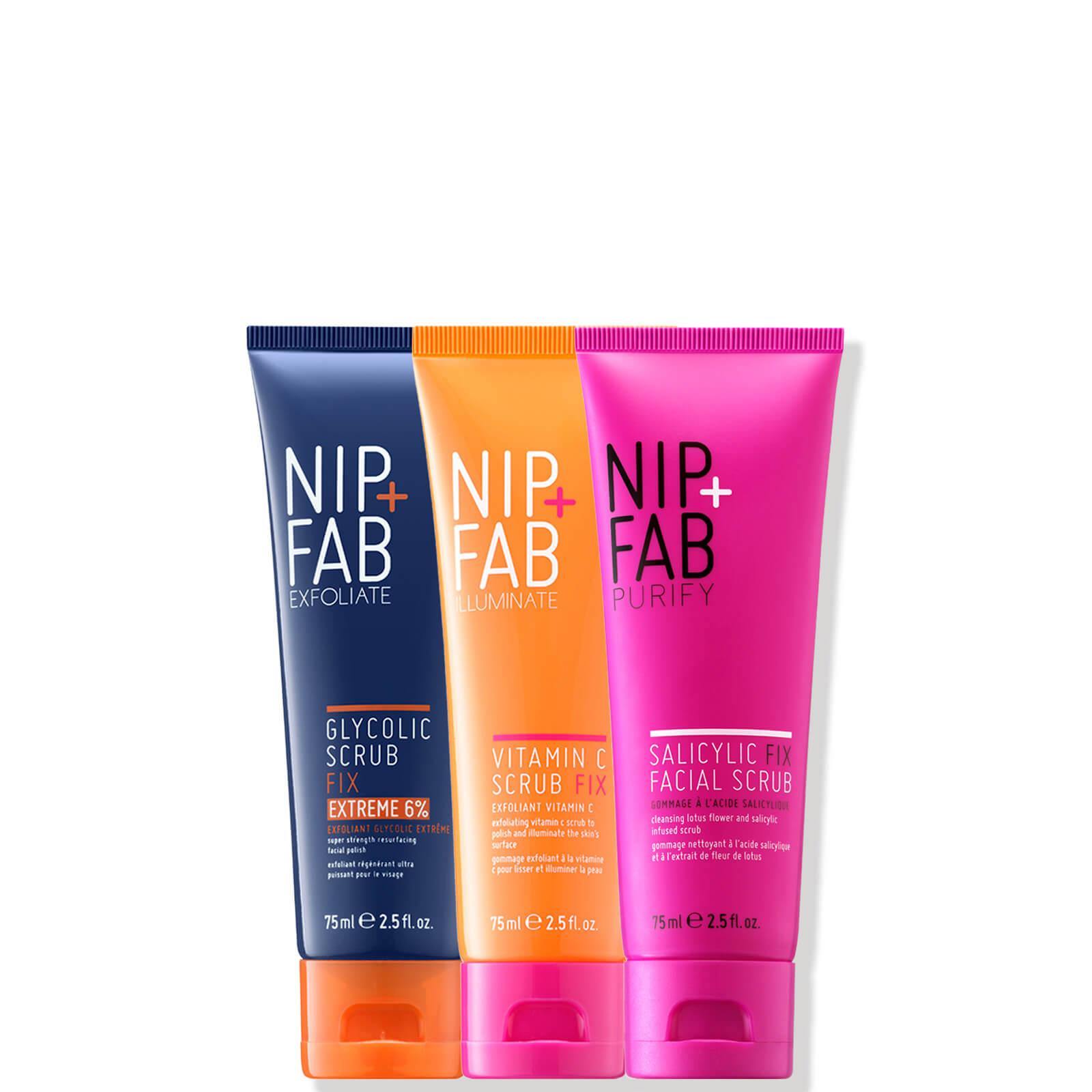 Купить NIP+FAB Scrub Trio Bundle