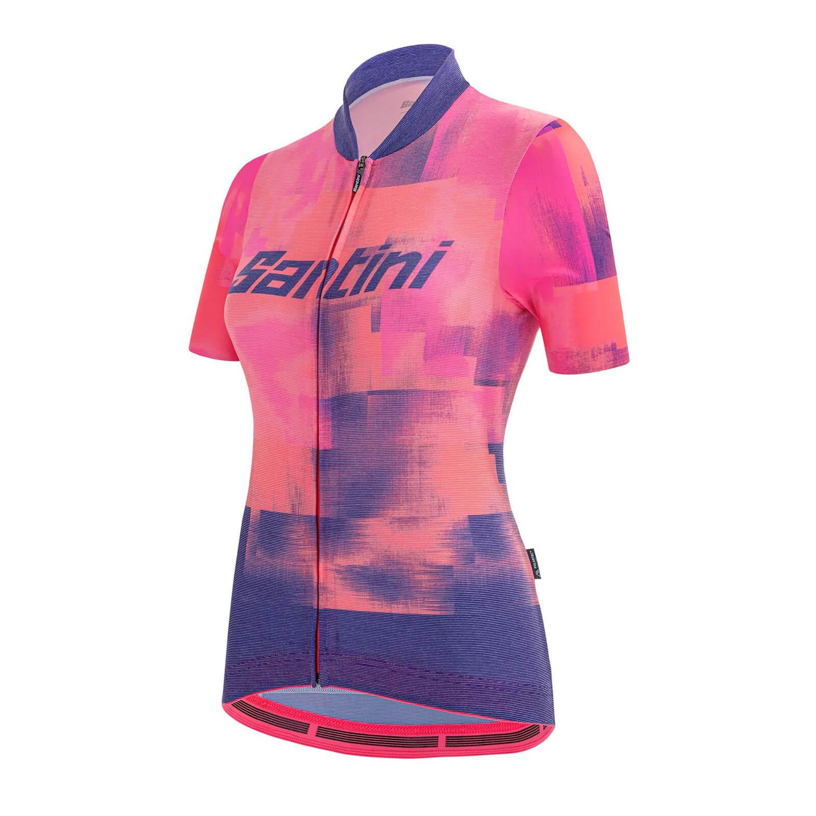 Santini Women's Indoor Forza Short Sleeve Jersey - S