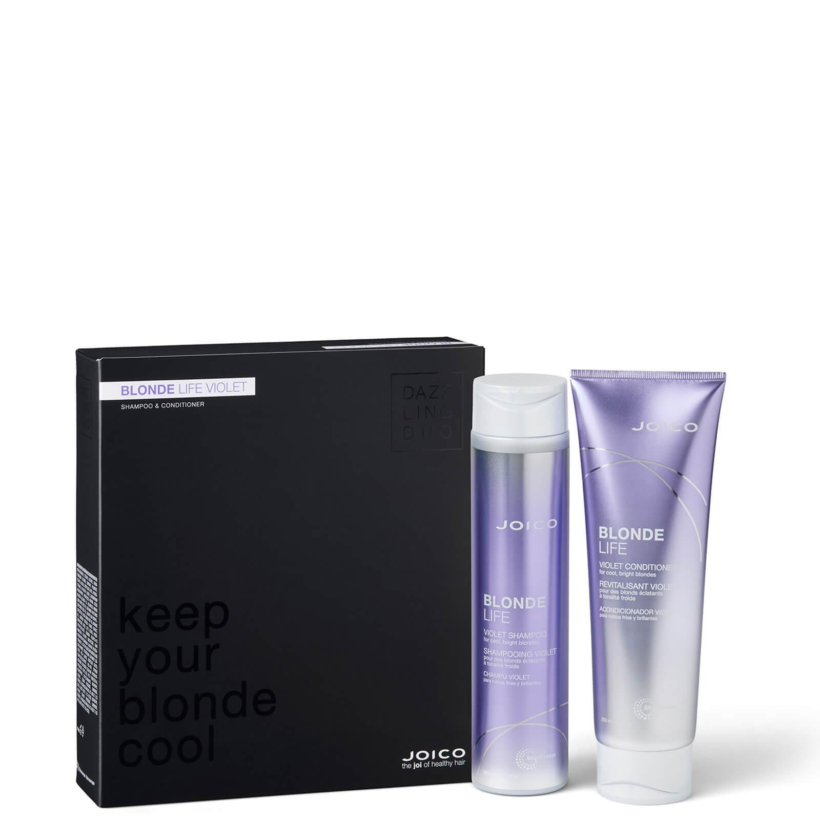 Купить JOICO Blonde Life Violet Shampoo and Conditioner Dazzling Duo
