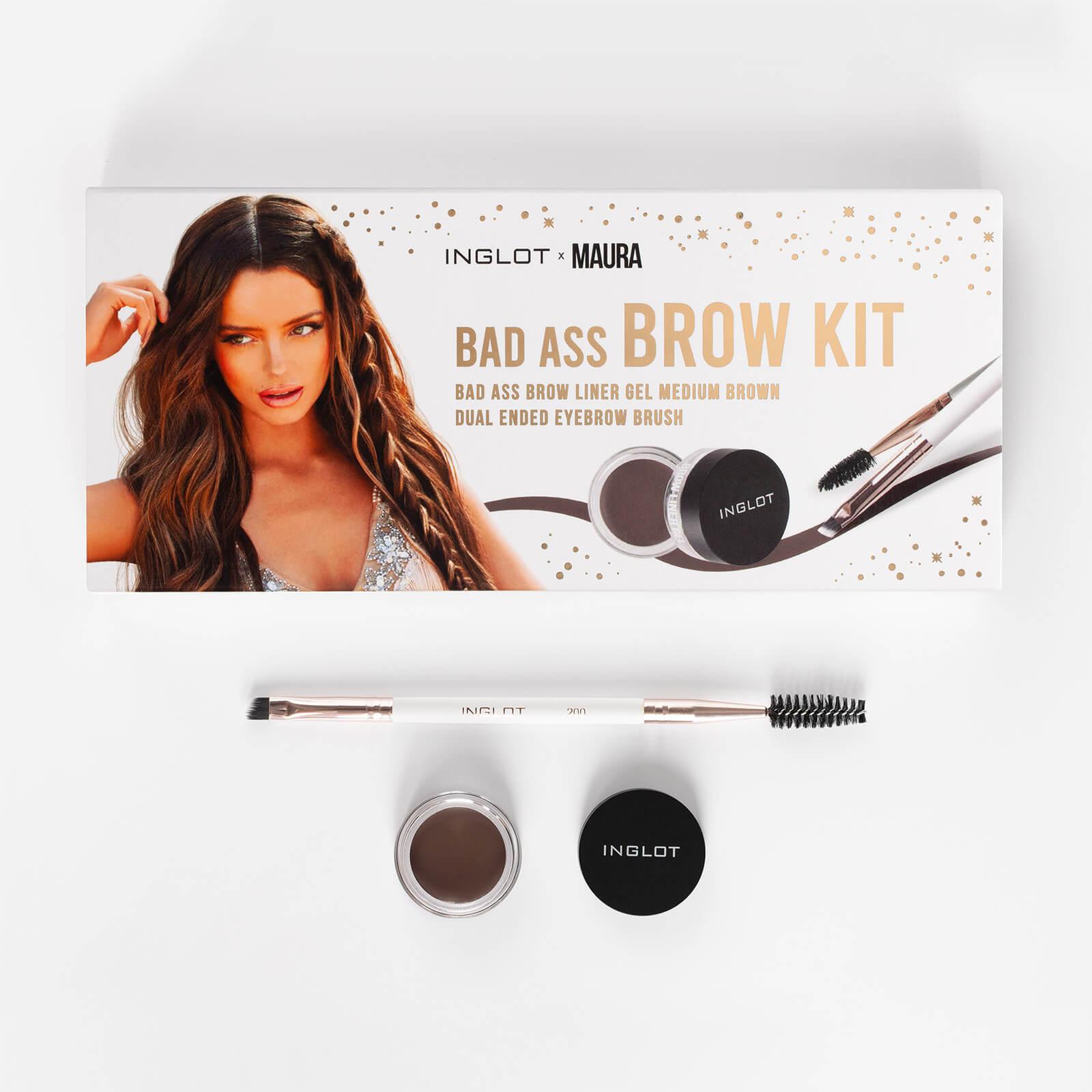 Купить Inglot X Maura Bad Ass Brow Kit