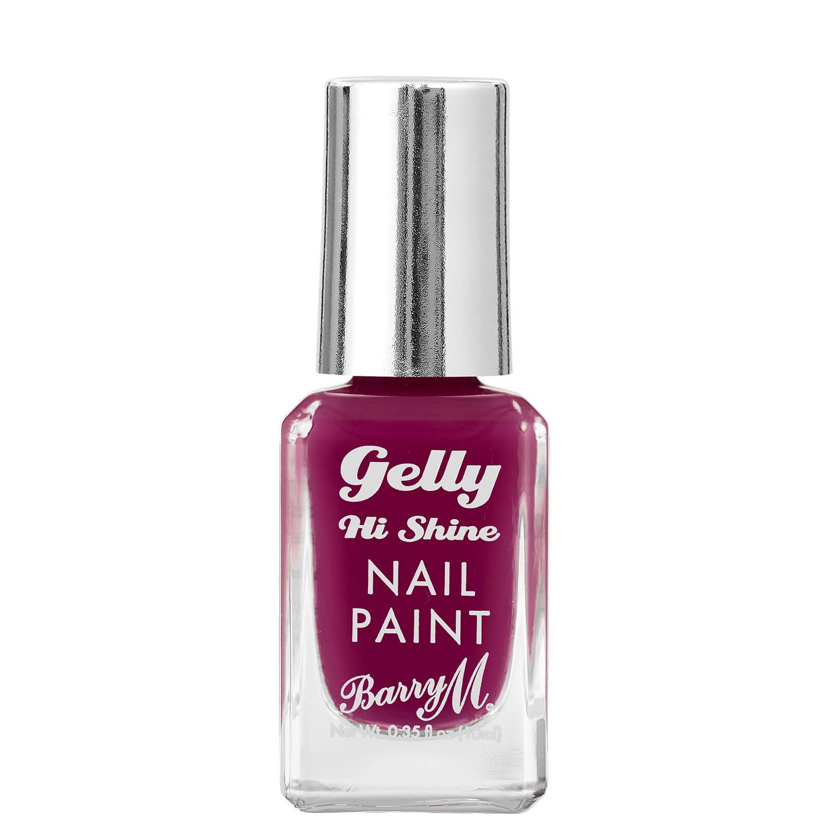 Купить Barry M Cosmetics Gelly Nail Paint 10ml (Various Shades) - Plum Jam