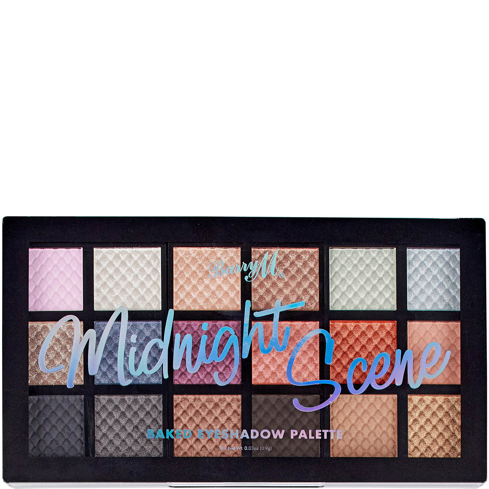 Купить Barry M Cosmetics Baked Eyeshadow Palette - Midnight Scene