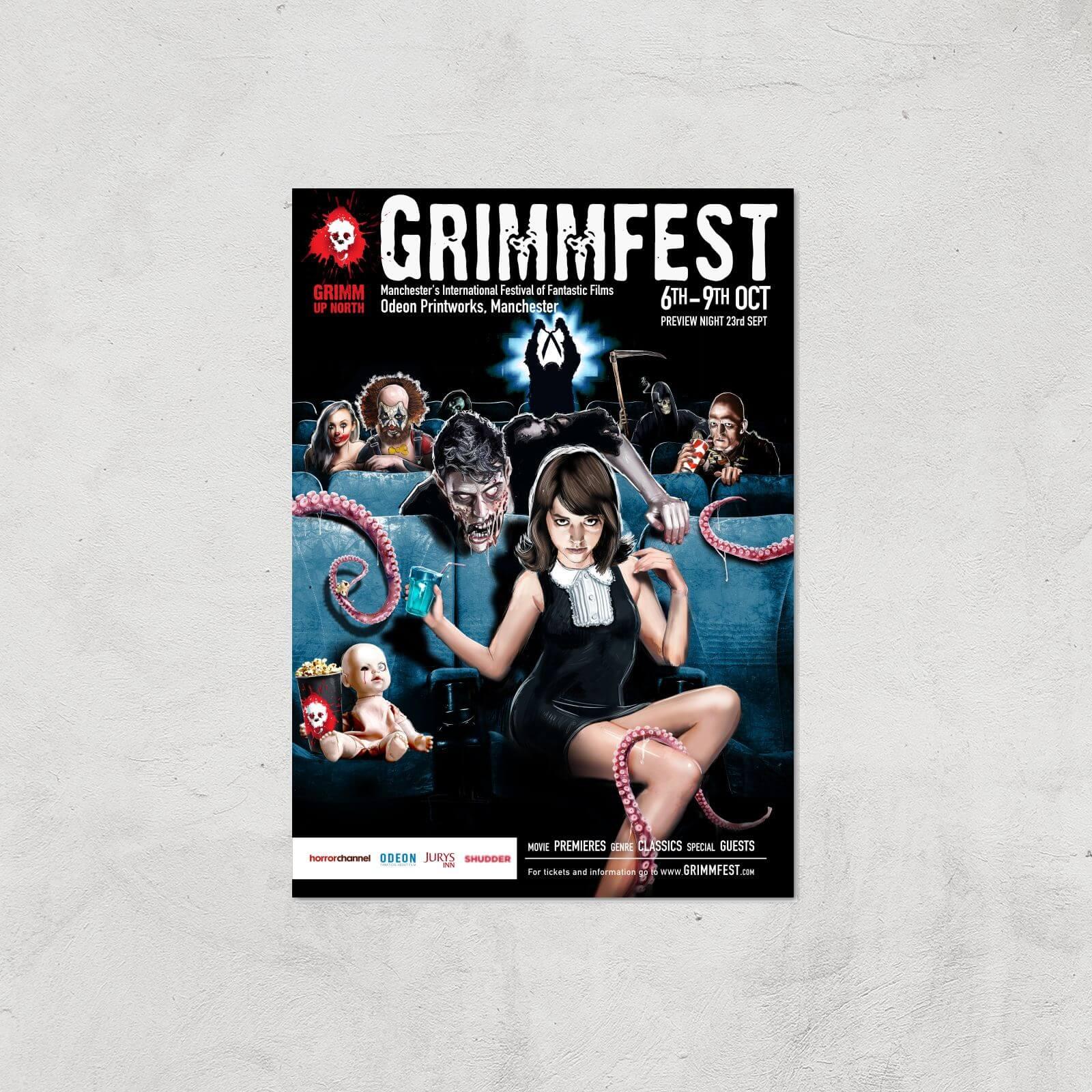 Grimmfest 2016 Giclée Art Print - A4 - Print Only