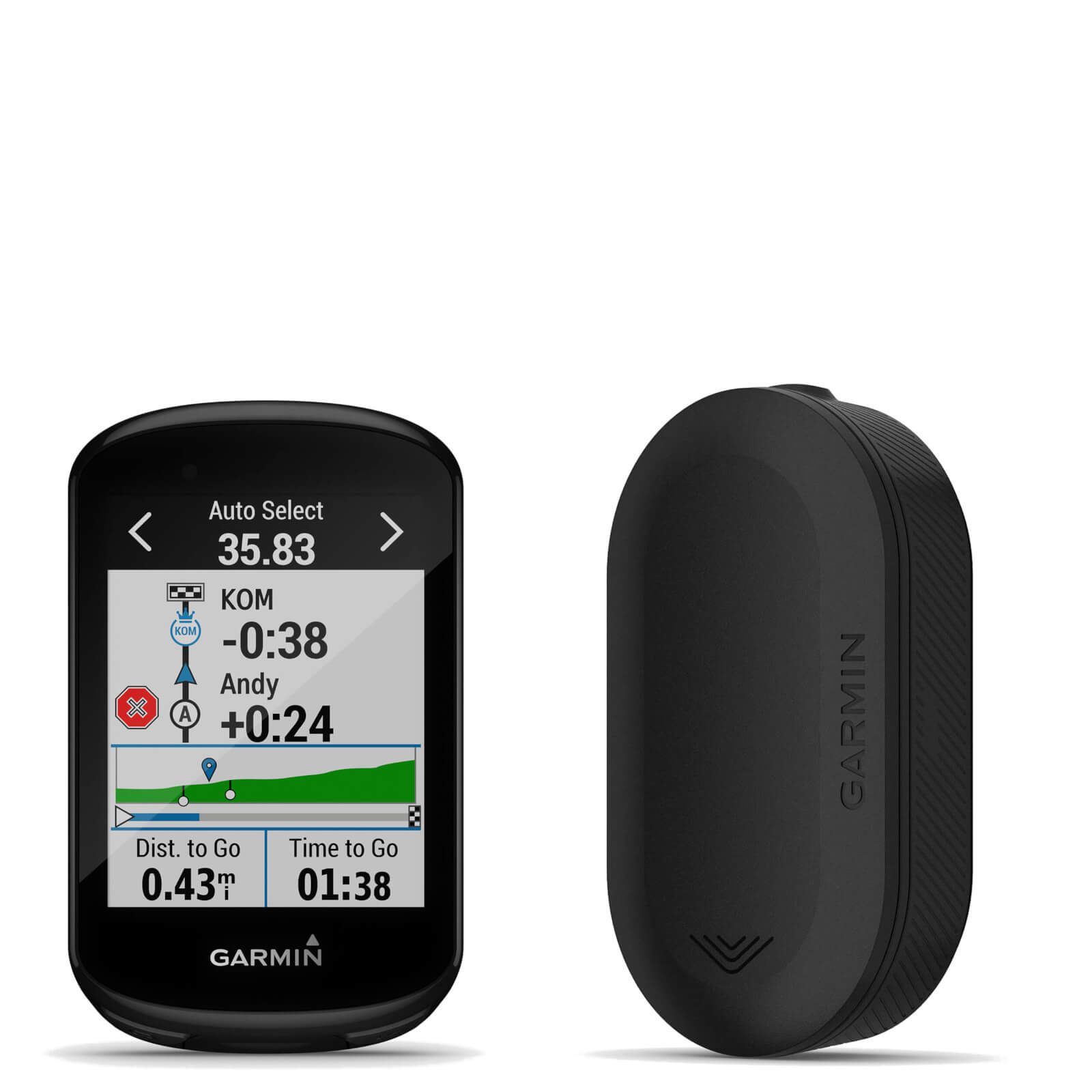 Garmin Edge 830 GPS Cycling Computer/Garmin Varia RVR315 Radar Bundle