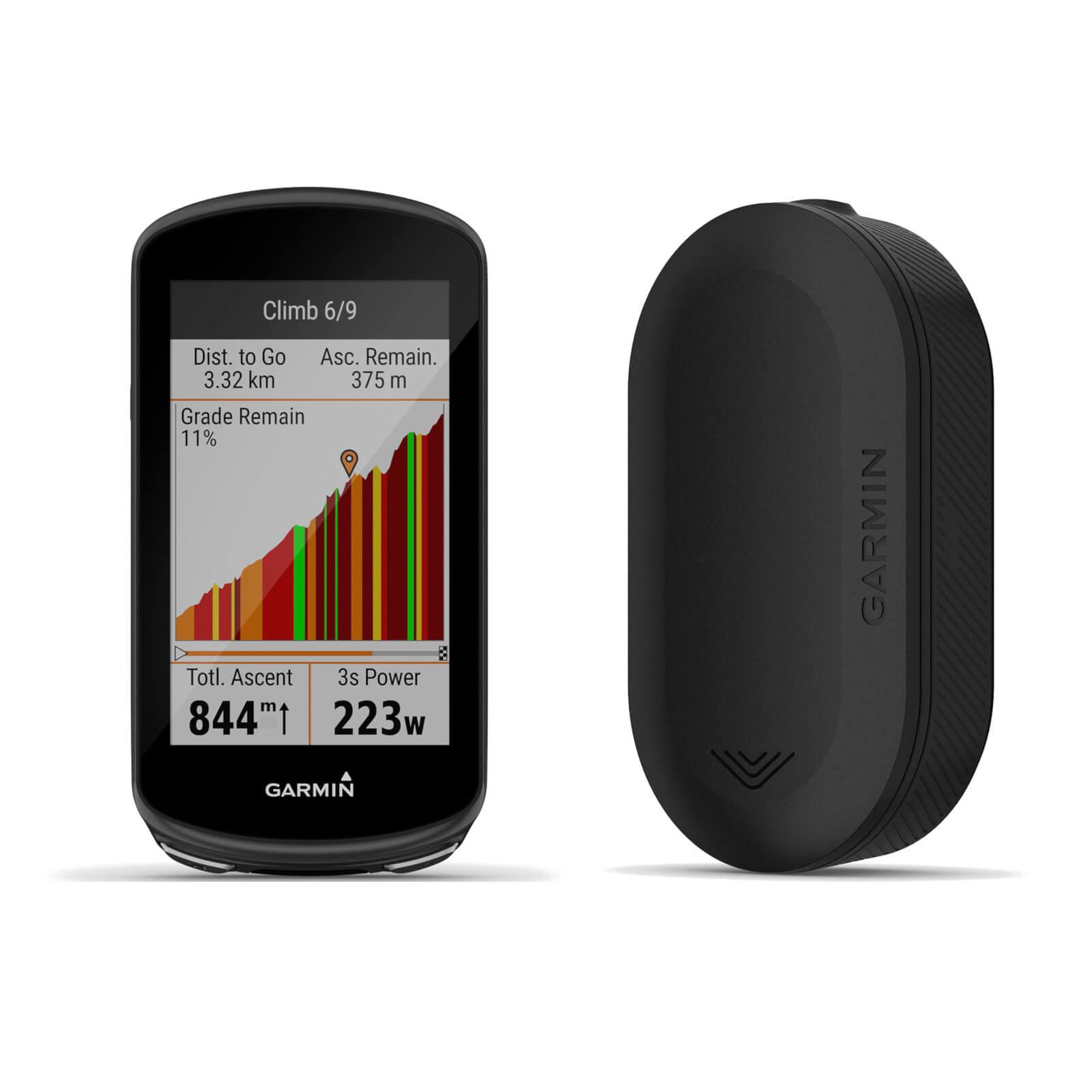Garmin Edge 1030 Plus GPS Cycling Computer/Garmin Varia RVR315 Radar Bundle