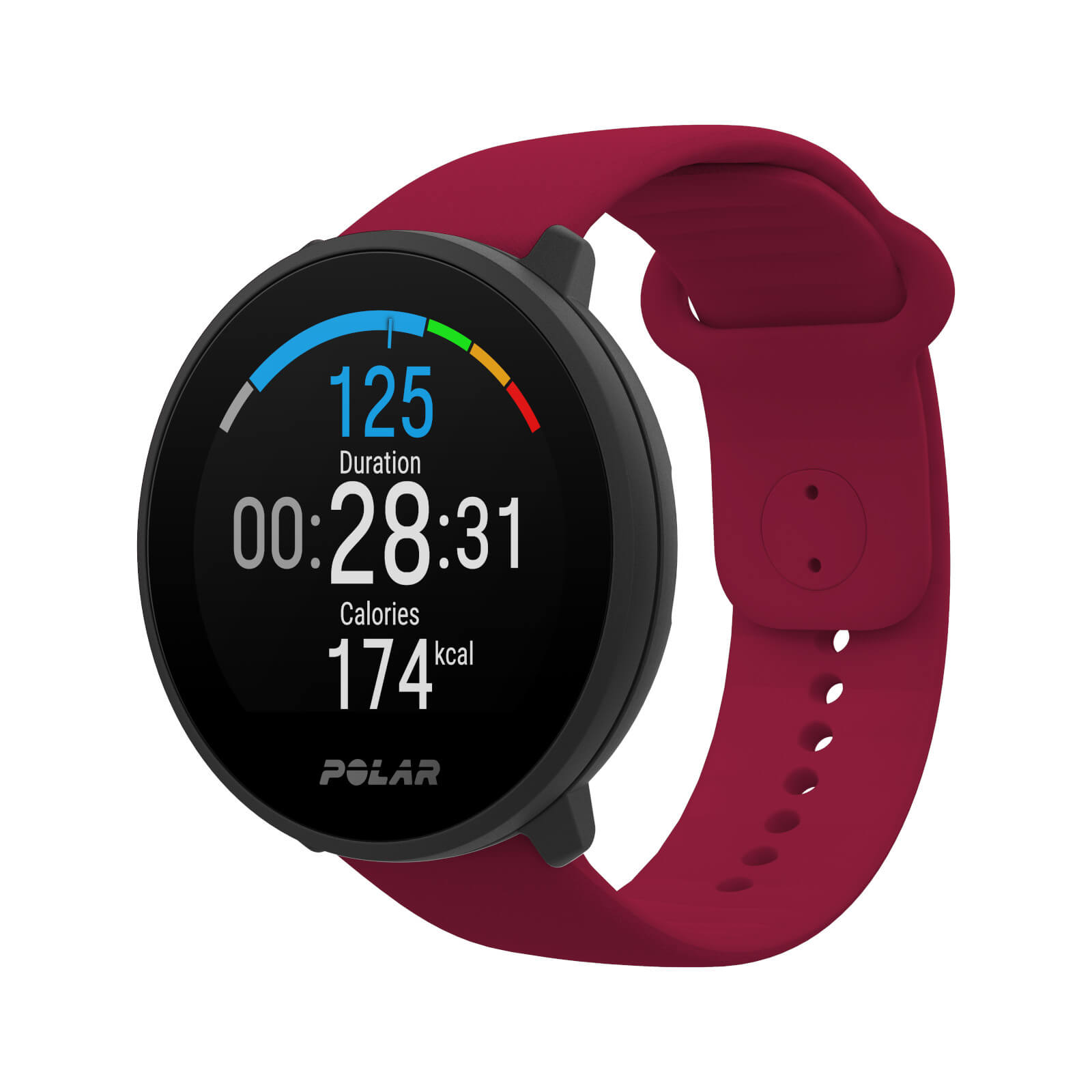 Polar Unite Fitness Watch - Rot