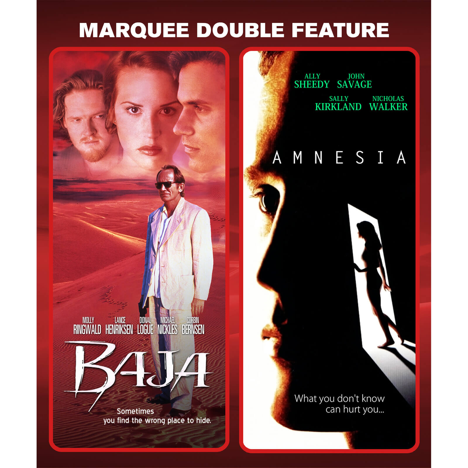 Marquee Double Feature: Baja / Amnesia