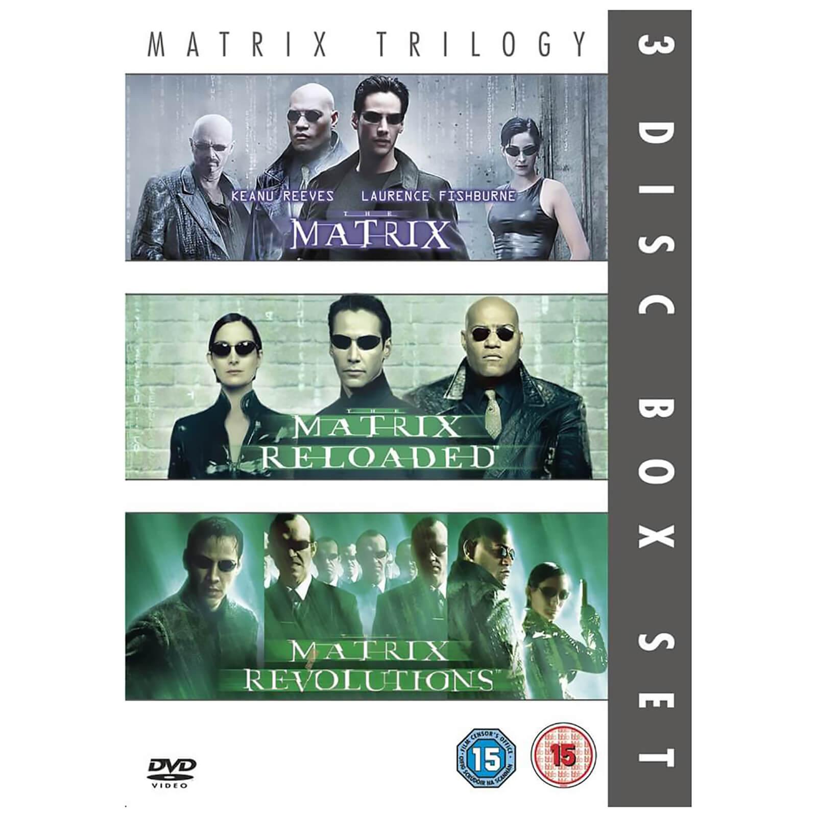 The Matrix/Matrix Reloaded/Matrix Revolution