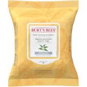 Купить Влажные салфетки для снятия макияжа Burt's Bees White Tea Facial Wipe