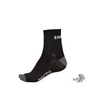 BaaBaa Merino Sock (Twin Pack) - Black/None