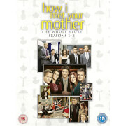 How I Met Your Mother Seasons 1-8 Box Set