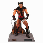 Diamond Select Marvel Select Action Figure - Wolverine (Unmasked Brown Costume)