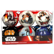 Star Wars Set of 12 Christmas Scene Ornaments