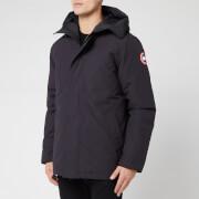 canada goose men's garibaldi parka jacket - black - l