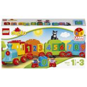 LEGO DUPLO Number Train Toy Education Large Bricks Set (10847)