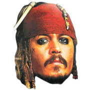 Disney Pirates of the Caribbean Captain Jack Sparrow Mask