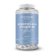 Acidophilus & Vitamin D3 Capsules