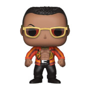 WWE The Rock Old School Pop! Vinyl Figure