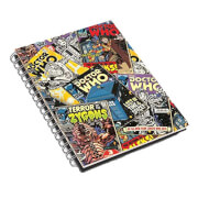 Dr Who Comic Book Notebook