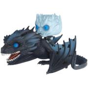 Game of Thrones Night King & Icy Viserion GITD Pop! Vinyl Ride