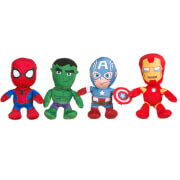 Marvel Avengers Small 4 Assorted Plush Collection