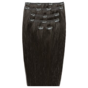 Beauty Works 18 Double Hair Set Clip-In Extensions - Raven 2