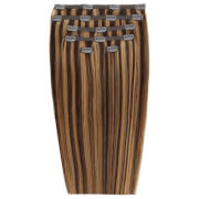 Beauty Works Double Hair Set 18 Inch Clip-In Hair Extensions (Various Shades) - Blondette 4/27 фото