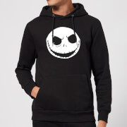 Disney The Nightmare Before Christmas Jack Skellington Black Pullover Hoodie