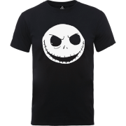 Disney The Nightmare Before Christmas Jack Skellington Black T-Shirt