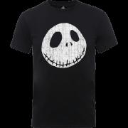 Disney The Nightmare Before Christmas Jack Skellington Crinkle Black T-Shirt