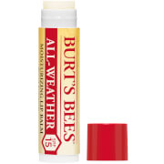 burt's bees 100% natural all weather spf15 moisturising lip balm 4.25g