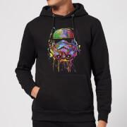 Star Wars Paint Splat Stormtrooper Hoodie - Schwarz