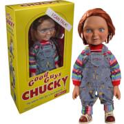 Poupée Parlante Chucky Heureux - Mezco 38 cm