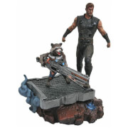 Diamond Select Marvel Premier Collection Statue - Thor And Rocket