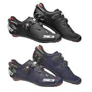 Sidi Wire 2 Matt Carbon Road Cycling Shoe - Matt Black / EU43