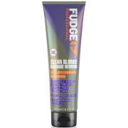 Fudge Clean Blonde Damage Rewind Shampoo 250ml