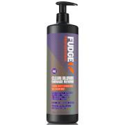 Тонирующий восстанавливающий шампунь для волос Fudge Clean Blonde Damage Rewind Shampoo 1000 мл фото