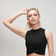 Energy Crop Top - Black