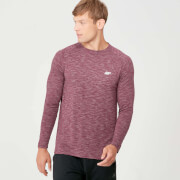 MP Performance Long Sleeve T-Shirt - Burgundy Marl
