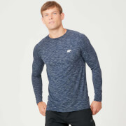 MP Performance Long Sleeve T-Shirt - Navy Marl
