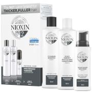 Купить Пробный набор средств для волос NIOXIN 3-Part System Trial Kit 2 for Natural Hair with Progressed Thinning