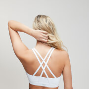 Essentials Training Sports Bra - White