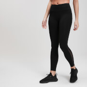 MP Women's Power Mesh Leggings -leggingsit - Mustat