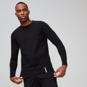 Ideal: Luxe Classic Long-Sleeve Crew Black S Aktion