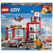 LEGO City : La caserne de pompiers (60215)