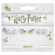 Stud Earring Set Deathly Hallows/ Golden Snitch/ Platform