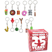 Kidrobot The Simpsons: 25th Anniversary Keychain Assortment