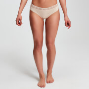 MP Women's Essentials Seamless Thong - Beige