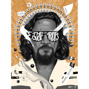 "Big Lebowski ""The Dude Abides"" Variant Screenprint by Doaly - Zavvi Exclusive"
